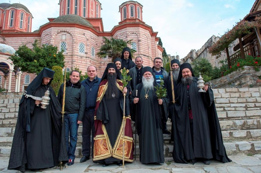 Афон. Епископ Бородянский Варсонофий