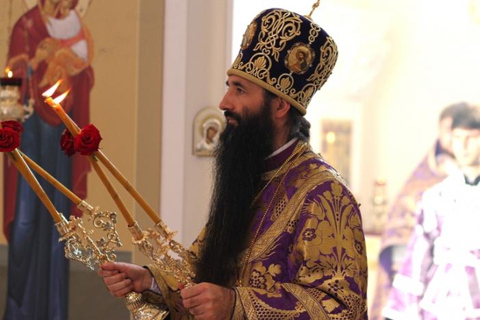 Богослужение архиерейское